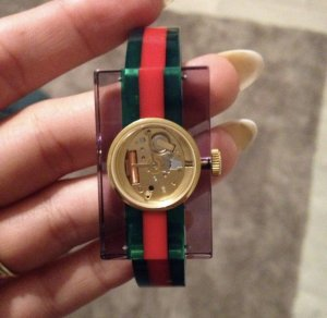 Gucci Watch red-green
