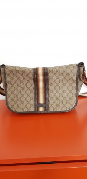 Gucci Crossbody bag bronze-colored-light grey