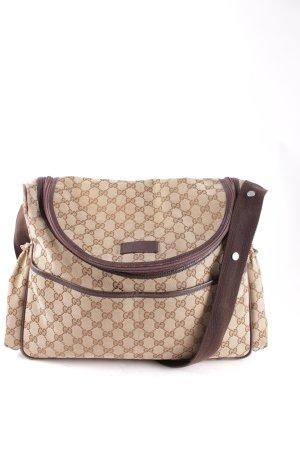 Gucci Borsa a spalla marrone chiaro-marrone stile da moda di strada