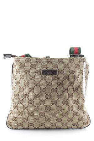 Gucci Umhängetasche Monogram-Muster Casual-Look