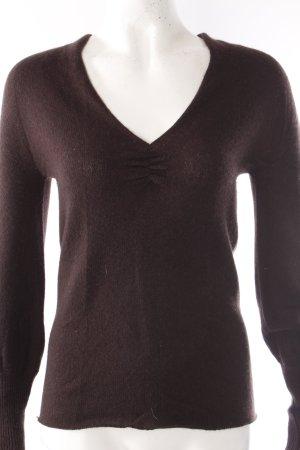 Gucci V-Ausschnitt-Pullover aus Kaschmir