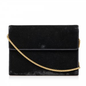Gucci Velor Chain Crossbody