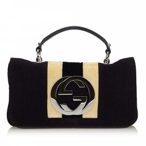 Gucci Velour Blondie Flap Bag