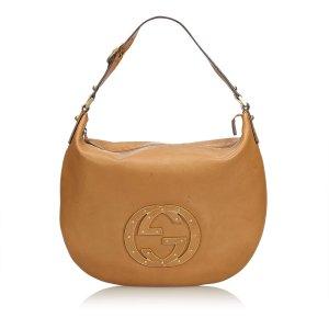 Gucci Vintage Double G Shoulder Bag