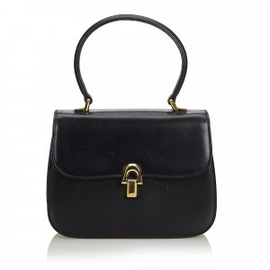Gucci Vintage Leather Handbag