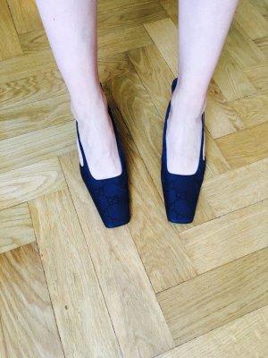 Gucci Vintage mid heels Sandaletten