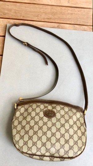 Gucci vintage monogram Tasche Crossbody braun beige Leder