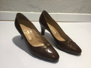 Gucci Pumps brown leather