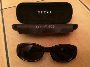 Gucci Vintage Sonnenbrille schwarz Retro