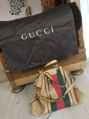 Gucci Bolso reversible marrón claro