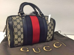 GUCCI Vintage Web Original GG boston bag (NEU!)