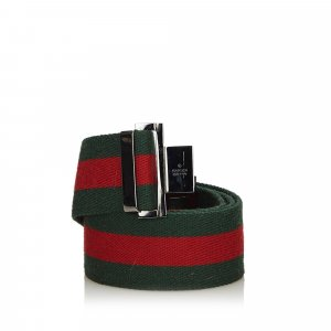Gucci Cinturón verde