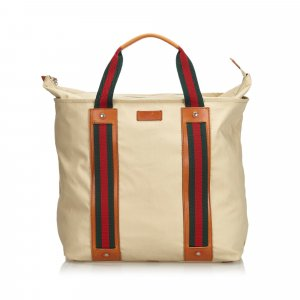 Gucci Web Canvas Weekender