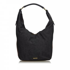 Gucci Web Denim Hobo Bag