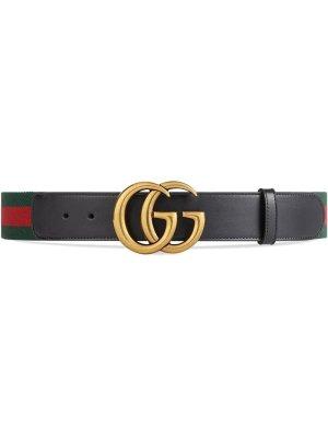 Gucci Web Double G Belt