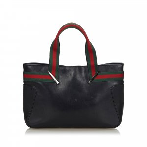 Gucci Web Leather Hanbag