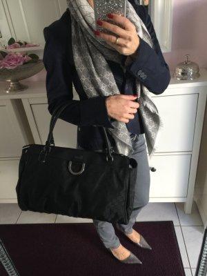 gucci weekender Tasche Handtasche schwarz silber shopper Guccissima