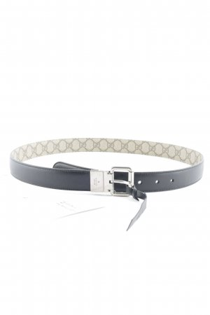 "Gucci Omkeerbare riem ""Reversible Leather and Supreme Belt Black/Beige 95"""
