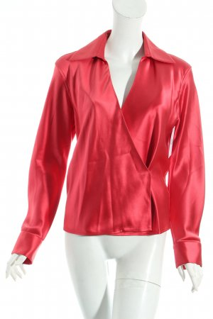 Gucci Blouse portefeuille rouge style minimaliste