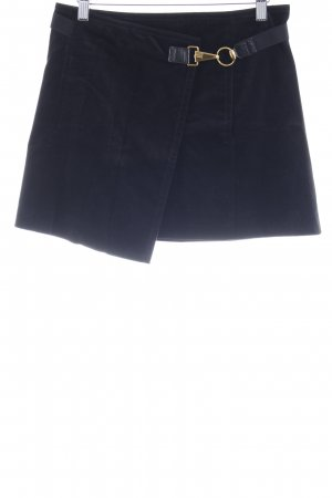 Gucci Wraparound Skirt black elegant