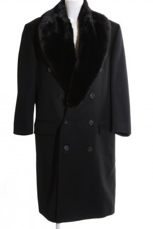 Gucci Wool Coat black business style