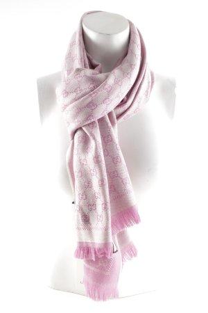 """Gucci Wollschal """"New Sten Scarf Ivory Pink"""""""