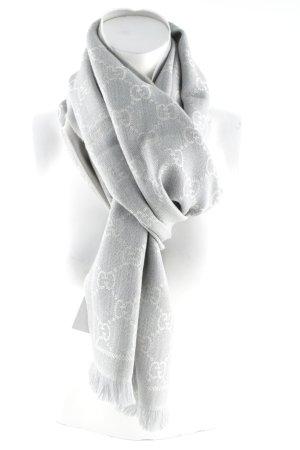 "Gucci Wollen sjaal ""Scarf Sten Grigio"""