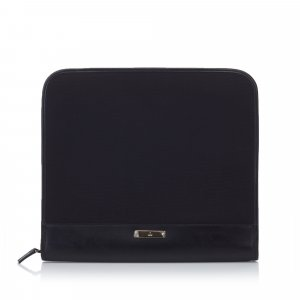 Gucci Clutch black mixture fibre