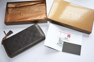 Guccisima Ziparround wallet mit Bamboo tassel