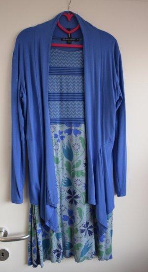 Gudrun Sjöden Midi Dress lilac-blue modal fibre