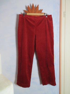Gudrun Sjöden 7/8 Length Trousers dark red