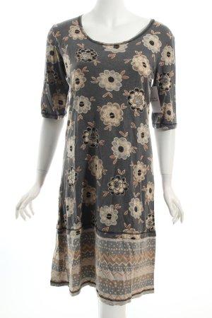 Gudrun Sjöden Jerseykleid florales Muster minimalistischer Stil