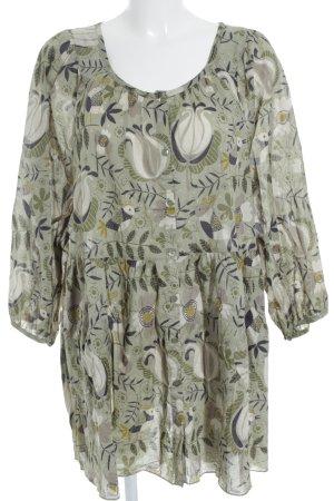 Gudrun Sjöden Langarm-Bluse florales Muster Casual-Look