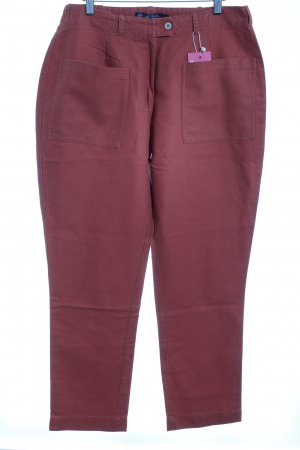 Gudrun Sjöden Linen Pants dark orange casual look