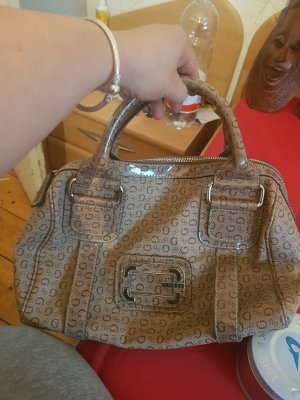 Guess Bowling Bag sand brown
