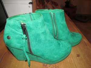 Blink Wedge Booties green