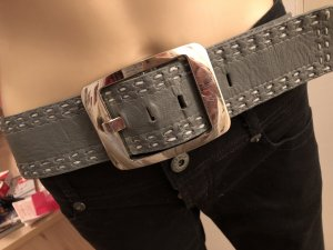 17&co Belt anthracite