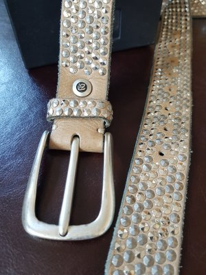 B Belt Studded Belt beige