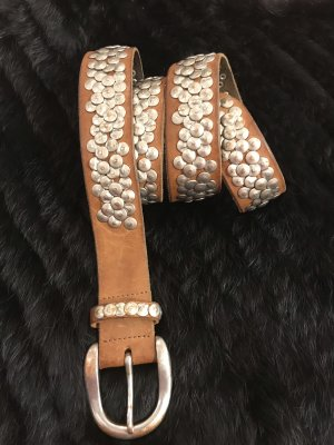 Liebeskind Studded Belt brown