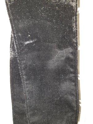 Cinturón de tela negro