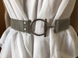 Cintura con catena argento-grigio chiaro