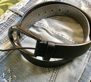 DKNY Cintura di pelle nero