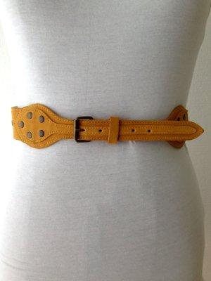 Gürtel aus echtem Leder von H&M, Taillengürtel bei 40/42, Hüftgürtel bei 36
