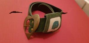 Sportalm Cintura verde scuro Pelle