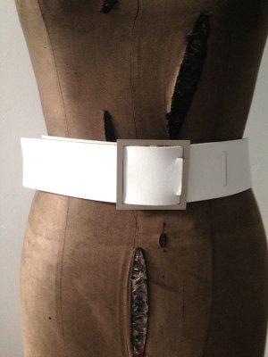Gürtel aus weißem Leder von COS, Gr. M/L