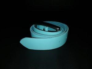 Cinturón de cadera azul neón