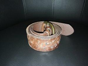 Cinturón de cadera coñac