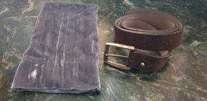 Brunello Cucinelli Leather Belt brown