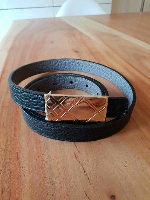 Burberry Cintura nero-oro