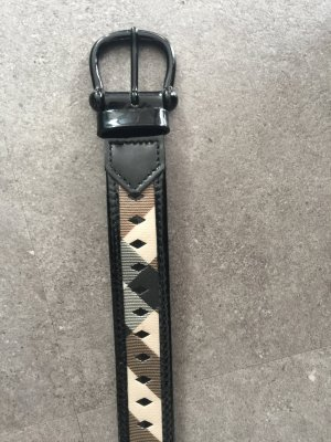 Burberry Faux Leather Belt multicolored